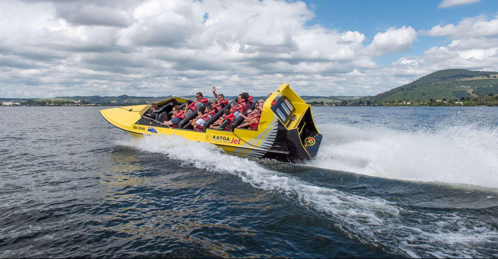 Speed, Spins & Cultural Tour | Jet Boating | Lake Rotorua